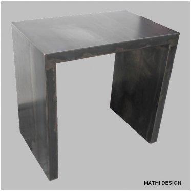 Kleines büro Stahl roh Edelrost: Amazon.de: Küche & Haushalt
