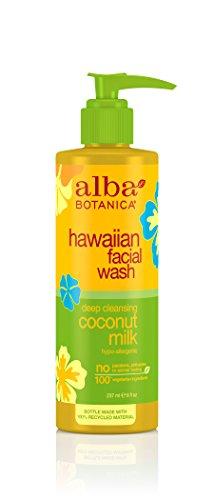 Alba Botanica, Facial Wash, Coconut Milk, 8 oz