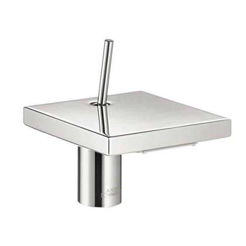 Axor 10070001 Starck X Single-Hole, 4-Inch, Chrome (Hansgrohe Axor Starck Tub Spout)