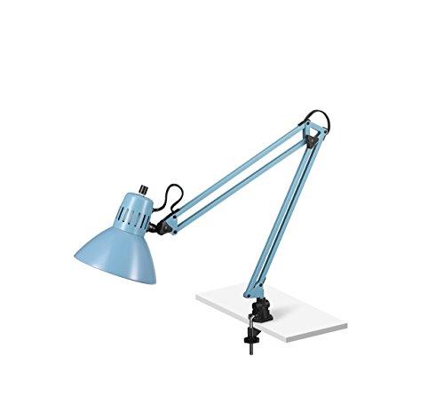 V-LIGHT Adjustable Desk Task Lamp, Blue ()