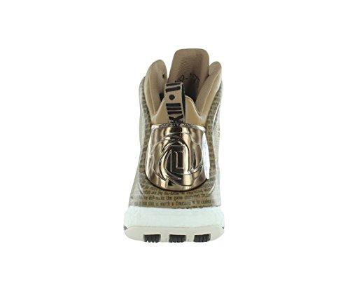 Scarpe Da Donna Adidas Asp D Rose 5 Boost Bhm (nero Storia Mensile) Carbonio / Marrone / Bianco