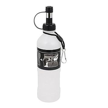 DealMux Dog Pet Curso do Gato Dispenser portátil Garrafa Beber água, 500ml, Branco: Amazon.es: Deportes y aire libre