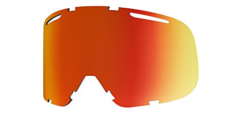 Smith Optics Riot Men's Replacement Lens Eyewear Accessories - ChromaPop Everyday Red (Riot Ski)