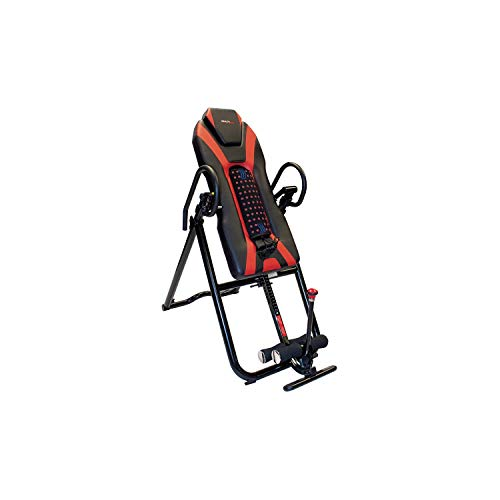 Health Gear 6.9 Deluxe Inversion Table with Heat and Massage