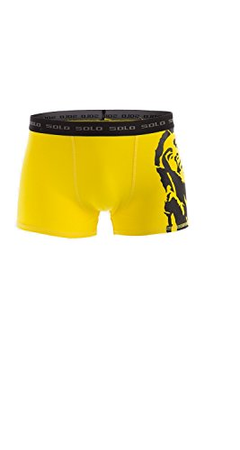 Attraktive Solo® Herren Boxershorts, Cotton Stretch, Trend und Komfortable Männer Unterhose von Solo® Underwear - Fühle dich rundum bequem und stylisch mit Solo® Herren Unterwäsche.
