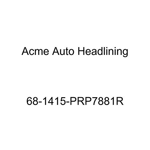 Acme Auto Headlining 68-1415-PRP7881R Carmine Replacement Headliner (Chevrolet Impala 4 Door Hardtop 5 Bow)