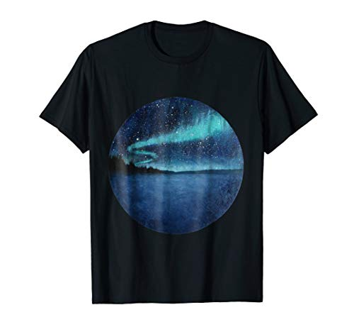 Northern Lights Aurora Borealis T Shirt