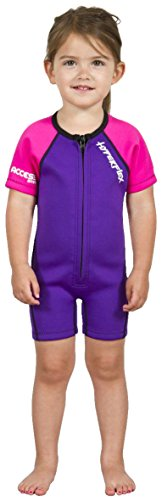 - Hyperflex Access Front Zip Springsuit with 2mm Thickness, 3, Purple