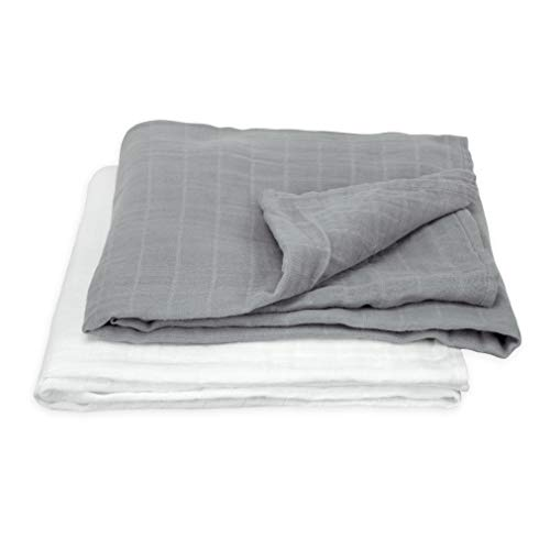 green sprouts Muslin Swaddle Blankets made from Organic Cotton   Generously sized for easy swaddling   Super soft & softer with every wash