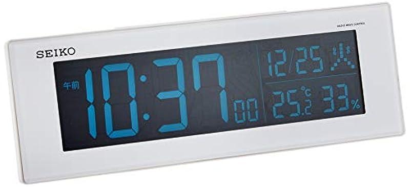 세이코 clock 탁상시계 01:흑본체 사이즈:7.3×22.2×4.4cm 전파 디지탈 교류식 컬러 액정 시리즈C3 가격표 없음 BC406K