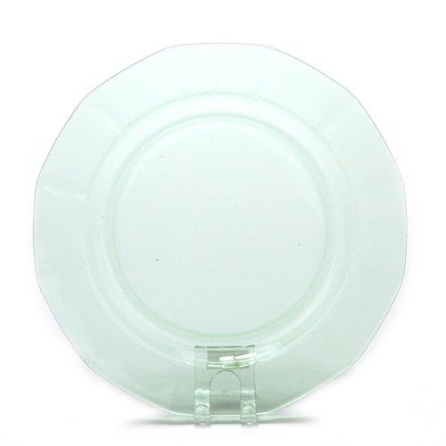- Salad Plate, Glass, Green, Depression