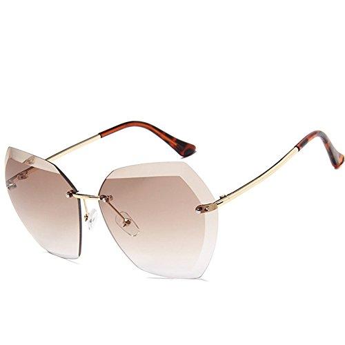 My.Monkey Classic Metal Frameless Sunglasses for - Frames How Bend Eyeglass To