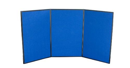 Displays2go 3 Panel Tabletop Display Board