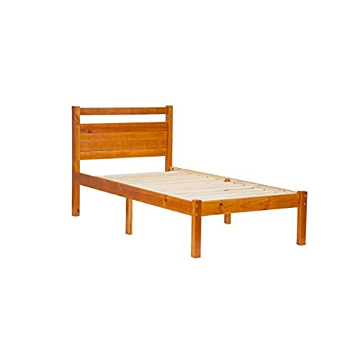 Solid Wood Twin Bed: Amazon.com
