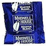 Maxwell House Master Blend Ground Coffee - 1.25 oz. fractional pack, 192 packs per case