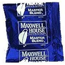 Maxwell House Master Blend Ground Coffee - 1.25 oz. fractional pack, 192 packs per case by MAXWELL HOUSE