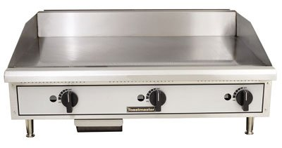 Toastmaster TMGM36 Manual Natural Gas 36'' Griddle by Toastmaster