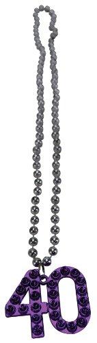 BigMouth Inc 40 Age Necklace