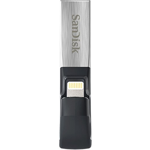 SanDisk iXpand USB 3.0/Lightning 128GB Flash Drive by SanDisk