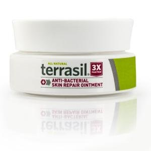 Terrasil Antibacterial Skin Repair - 3X Faster Relief, Dr. Recommended, All-natural, Soothing Ointment for Cuts, Scrapes, Burns, Cellulitis, Folliculitis, Ingrown Hair, Razor Burn - 14g