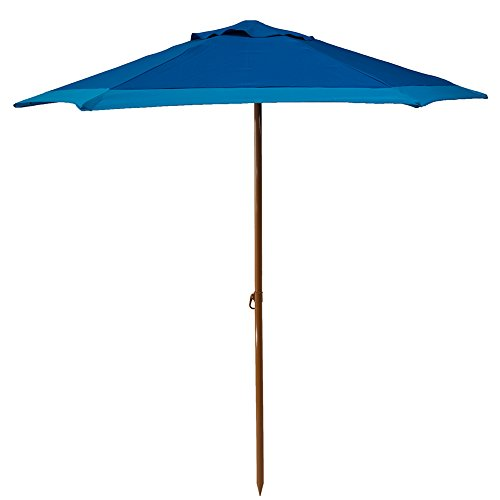 Cancer Foundation (Copa Brand Outdoor Patio & Beach Premium Umbrella Certified by Skin Cancer Foundation UV Protection UPF 50+ Reinforced with Metal Ribs (Assorted Colors and Sizes))