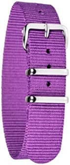 EasyRead Time Teacher 16mm Children's Watch Band - Purple - 10 Colors Avail
