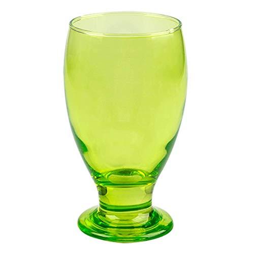 Cristar Copa Aqua Lexington Water Goblets 12 Oz. (2, Antique Green)