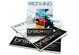 Fabriano Bristol+ Pad (20 sheets) 14x17'' by Fabriano