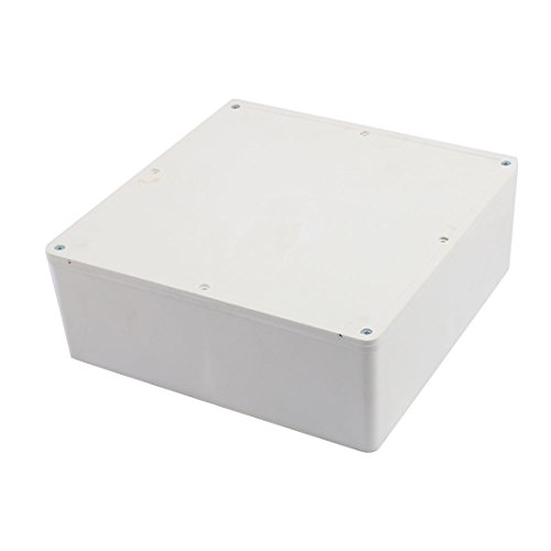 uxcell 230mm x 230mm x 83mm Rectangular PVC DIY Junction Box Case Fire Resistance by uxcell