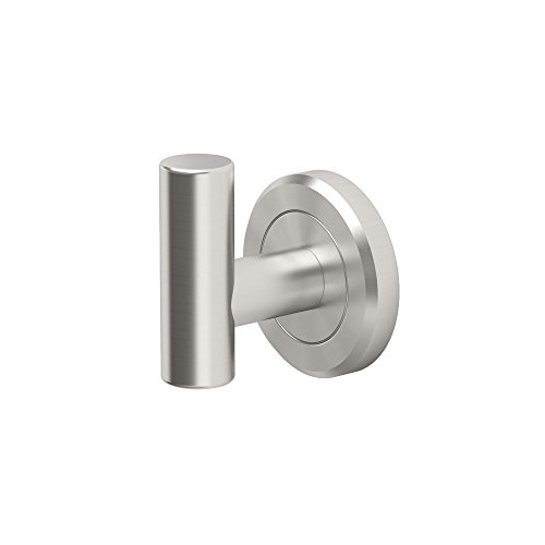 Gatco 4295 Latitude II Single Robe Hook, Satin Nickel