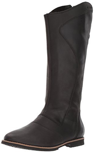Columbia Women's Twentythird Ave Waterproof Tall Boot Uniform Dress Shoe, Black, Mud, 8 B US (Waterproof Uniform)
