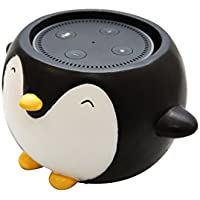 Penguin Holder Stand Mount for Alexa Echo Dot, Bose, Anker, Home Mini round speakers Accessories