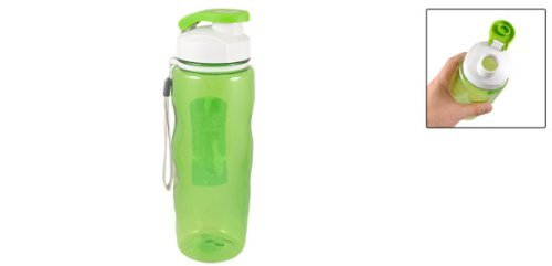 Amazon.com : eDealMax Té Para colgar botellas de plástico del filtro de agua 700ML Verde Claro : Sports & Outdoors