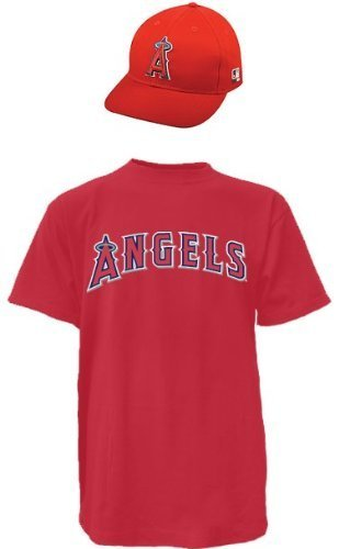 9e0370899ff Amazon.com   Los Angeles Angels MLB Cap   Jersey (Official Major ...
