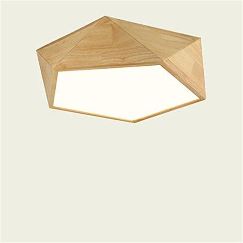 SJUN Nordic-Stil Einfache Japanische Lampen Wohnzimmer Lichter LED-Deckenleuchte (Color : Natürliches Licht-S)