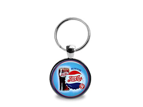 (Vintage Pepsi Cola Key Chain- 2 Sided)