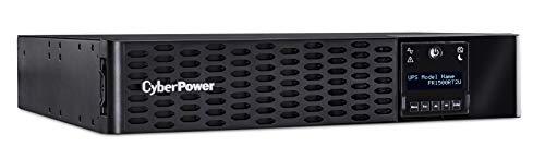 CyberPower PR1500RT2U Smart App Sinewave UPS System, 1500VA/1500W, 8 Outlets, 2U Rack/Tower, AVR from CyberPower