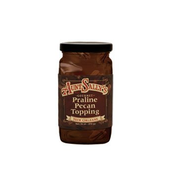 Praline Pecan Topping 16 oz (Best Ice Cream In New Orleans)