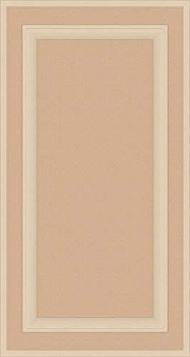Kendor Unfinished MDF Cabinet Door, Square with Raised Panel, 32H x 17W by Kendor
