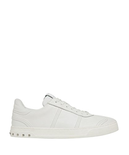 Valentino Garavani Men's Py2s0a08hcm0bo White Leather Sneakers