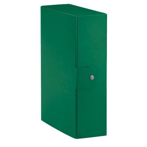 Dorso 10 Cm Verde Esselte Cartella a Scatola per Larchiviazione di Documenti a Lungo Termine A4 390390180 Delso Order