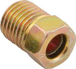 1//4 Tube 7//16-24 Thread Pack of 20 AAS Inverted Flare Brake Line Nut 121004