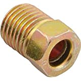"AAS Inverted Flare Brake Line Nut 121003 (Pack of 20) 3/16"" Tubing, 3/8""-24 Thread"