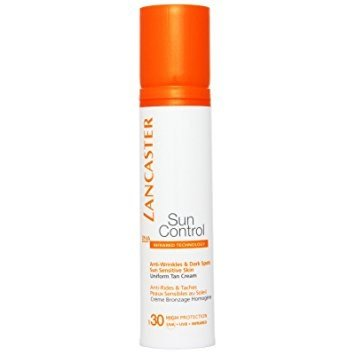 Sun Control Face Uniform Tan Cream SPF30 1.7oz Aroma White C+ Even Skin Tone Revealer SPF 50 630000 1.35oz