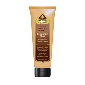 one 'n only Argan Oil Restorative Mask Derived from Moroccan Argan Trees, 8.5 Ounce (Treatment Oil Argan)