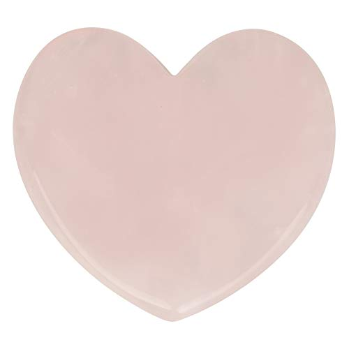 - Natural Rose Quartz Gua Sha Scraping Massage Tools, Crystal Healing Massage Stone Health Care Scrapping Plate