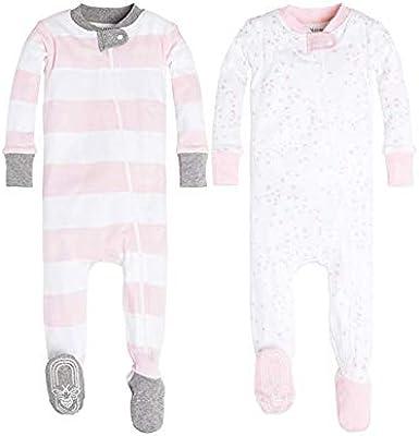 Organic Cotton Footie 3-6 m Zip-up Sleeper Burt/'s Bees Baby Boy Girl Pajamas