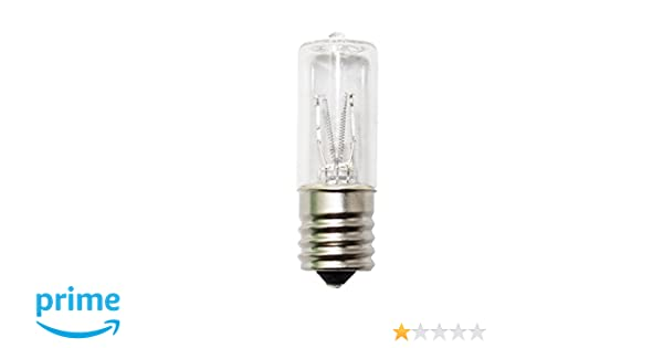 3 watt E17 Clear Germicidal Ultraviolet