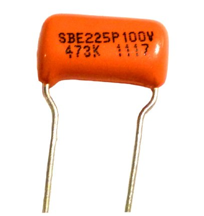 Sprague - Capacitor condensador para guitarra (0,047uf), color naranja: Amazon.es: Instrumentos musicales