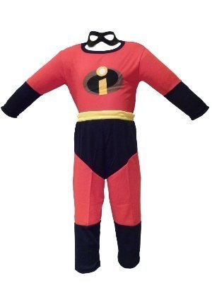 diversificato nella confezione sconto speciale di prezzo all'ingrosso Gli Incredibili' costume di carnevale in rosso, nero e ...